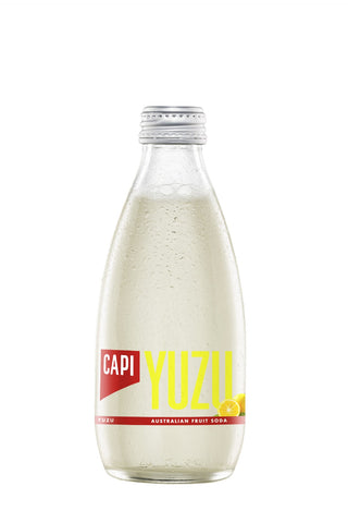 CAPI Yuzu Soda (250ml) - Audacity Wines
