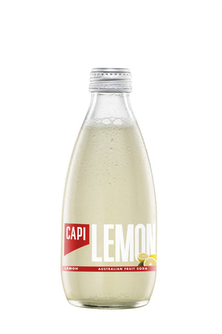 CAPI Lemon Soda (250ml)