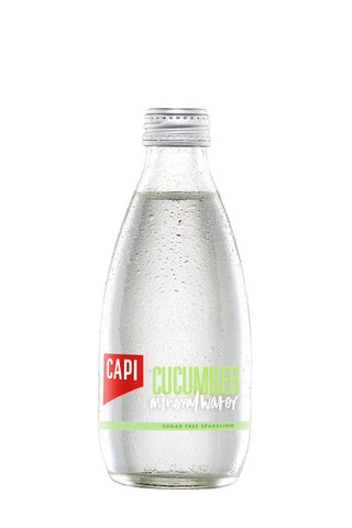CAPI Cucumber Mineral Water (250ml) - Audacity Wines