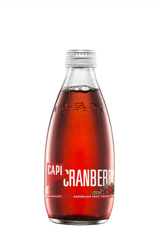 CAPI Cranberry Soda (250ml)