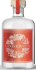 Giniversity Christmas Gin 40% (500ml) - Audacity Wines