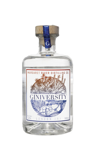 Giniversity London Dry Gin 40% (500ml)