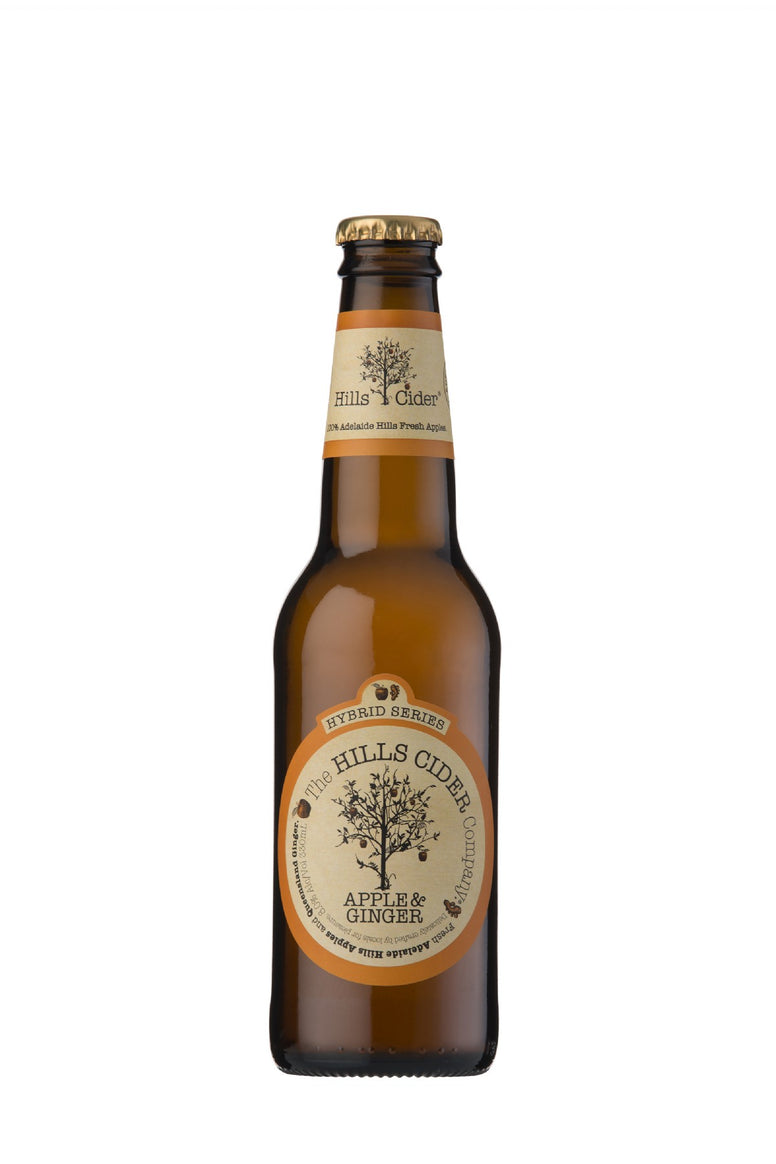 Hills Cider Apple & Ginger 8% (330ml)