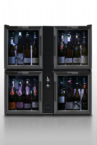 Le Verre de Vin Quad-Pod Bar - dual still wine and sparkling wine/champagne (BC406) - Audacity Wines
