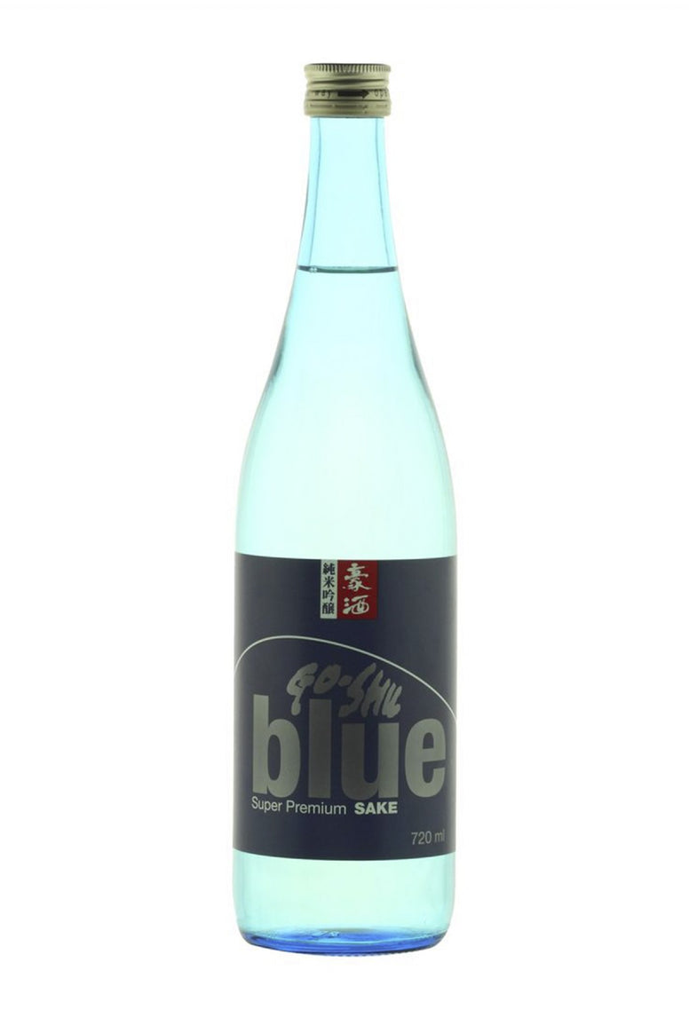 Go-Shu Blue Super Premium Sake (720ml) - Audacity Wines