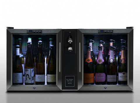 Le Verre de Vin Twin-Pod Bar - dual still wine and sparkling wine/champagne (BC404) - Audacity Wines