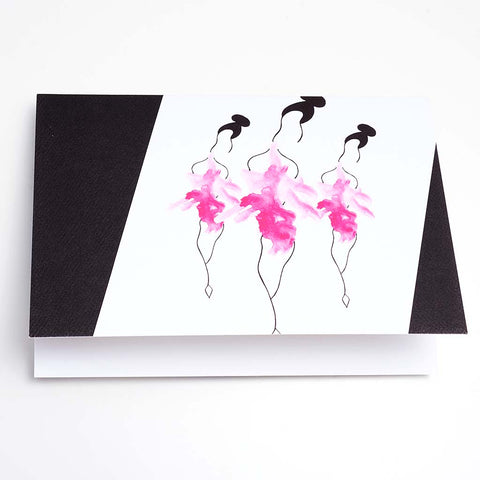 SO GIRLY GREETING CARD