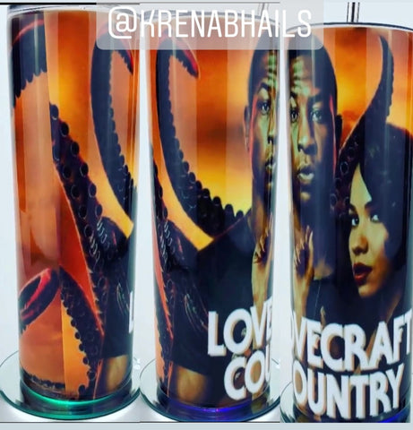 Lovecraft Country Tumbler