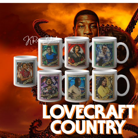 LOVECRAFT COUNTRY CHARACTER MUGS