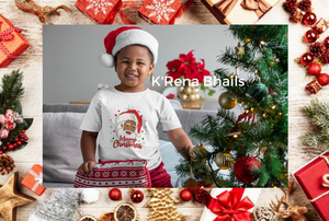 African American Santa Claus *DIGITAL FILE ONLY*
