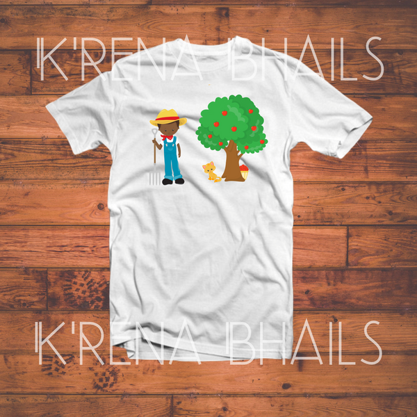 Boys Apple Tree Shirt