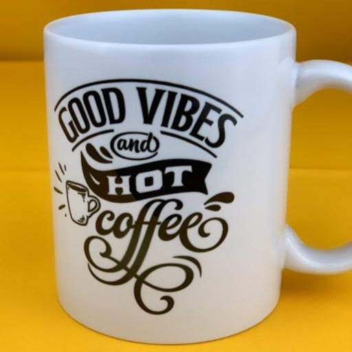 GOOD VIBES & HOT COFFEE