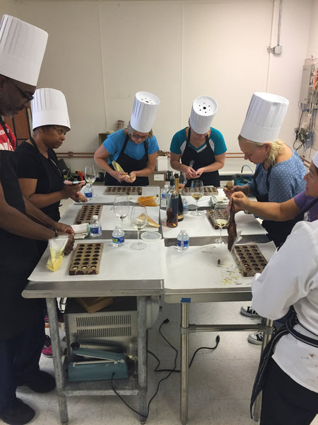 Public Chocolate Making Class