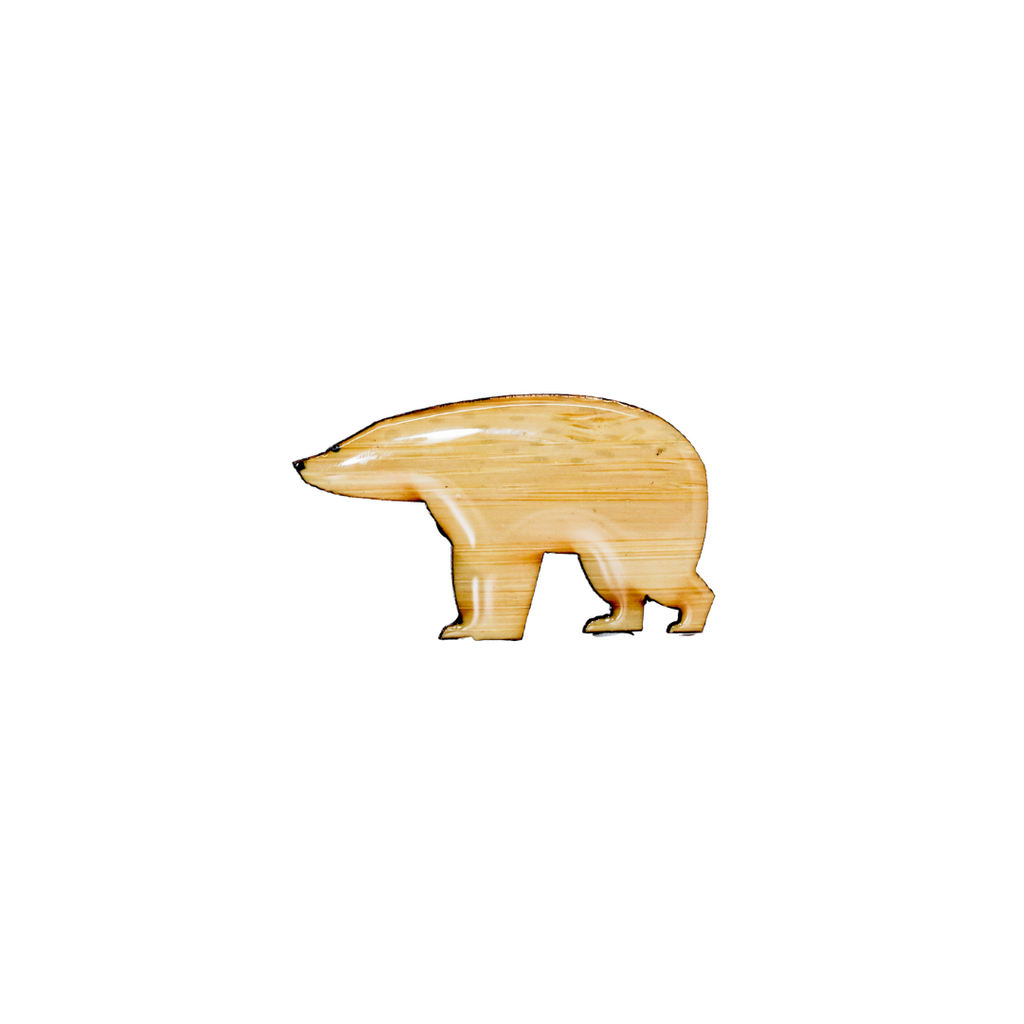 Bear - Polar Bear Brooch