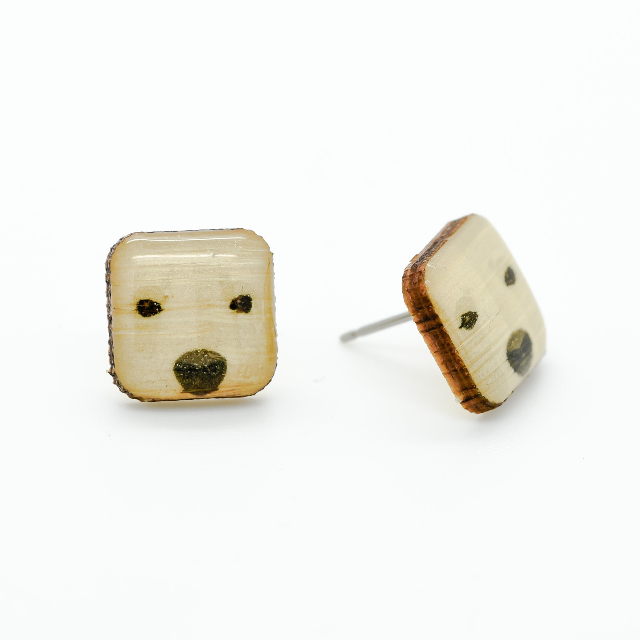 Bear - Polar Bear Earring