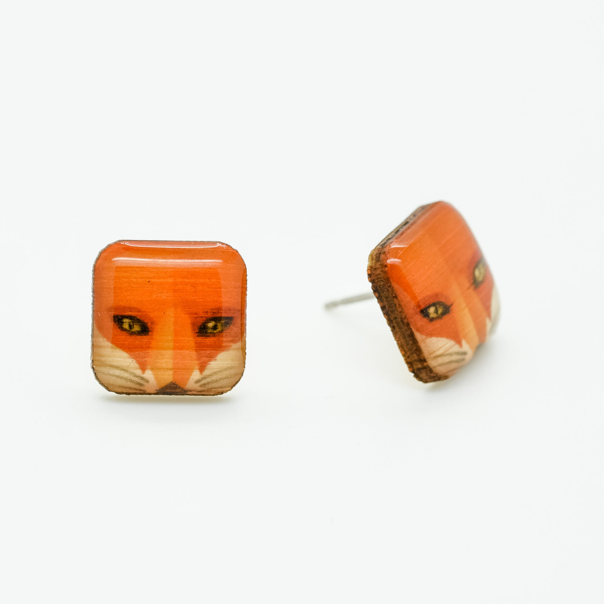 Fox - Red Fox Earring