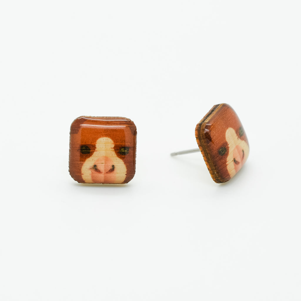 Tree Kangaroo - Goodfellow's Tree Kangaroo Earring