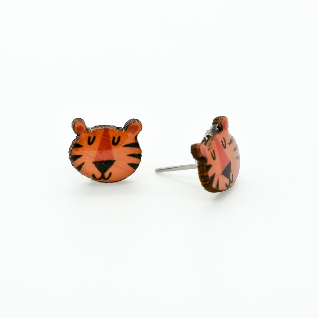Tiger II Earrings
