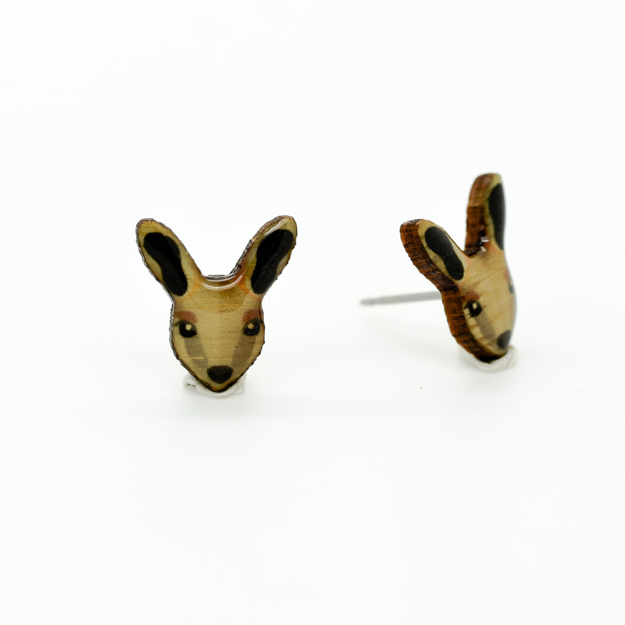 Rock-Wallaby - Yellow-Footed Rock-Wallaby Earring