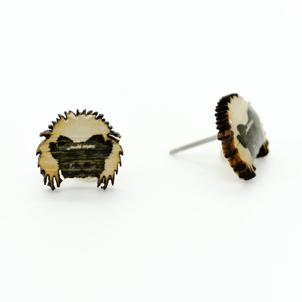Tamarin - Cotton-top Tamarin Earring