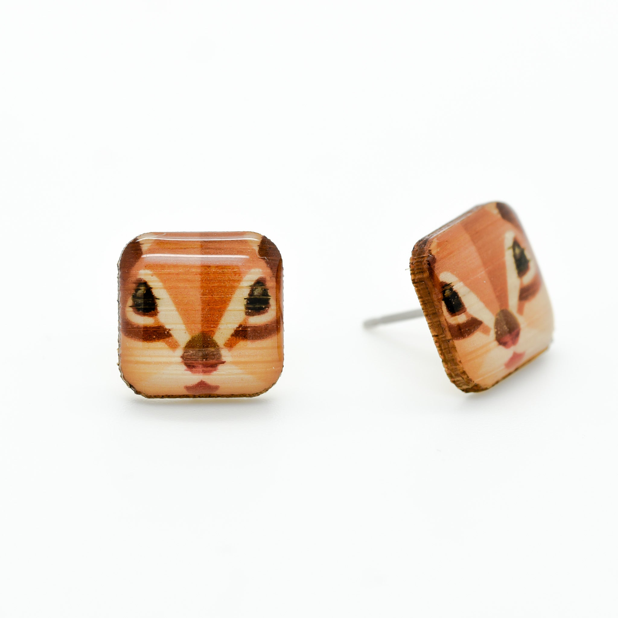 Chipmunk Earring