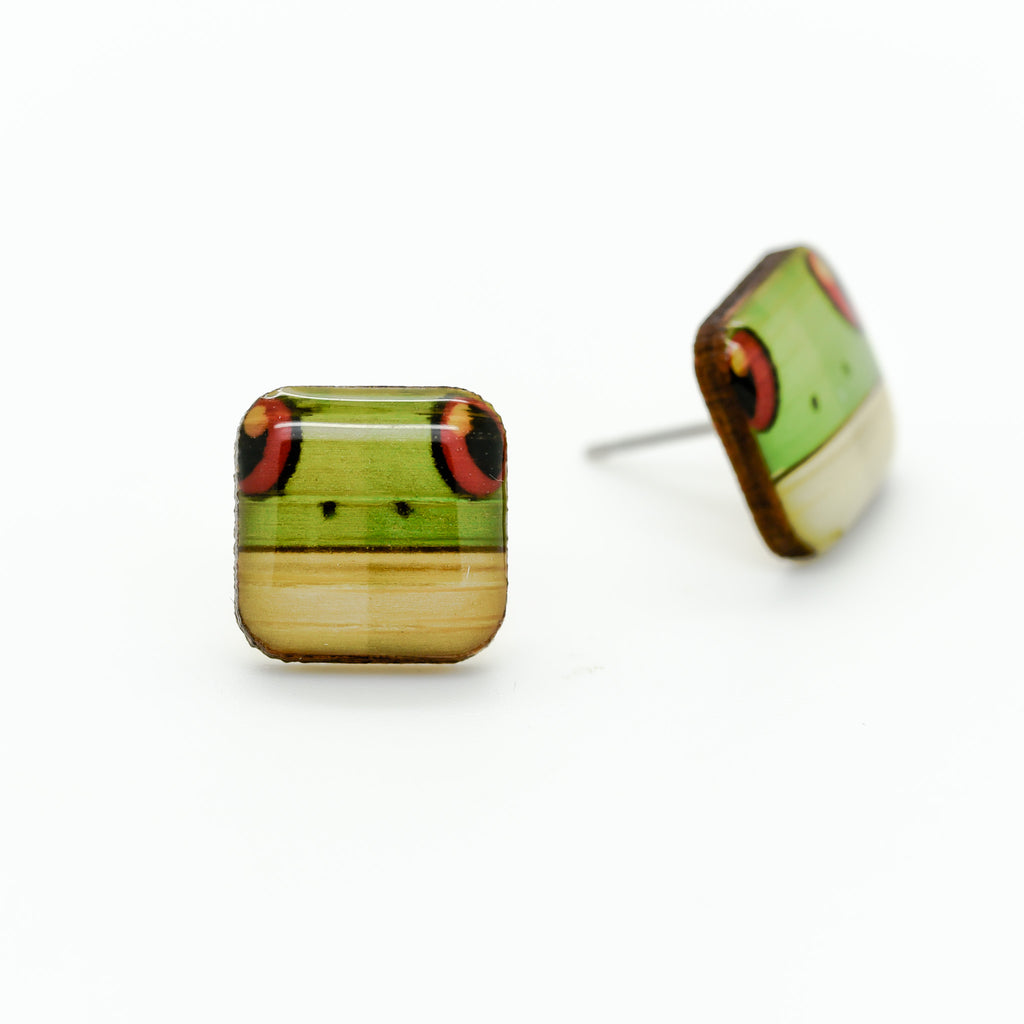 Frog - Red-eyed Tree Frog Earring