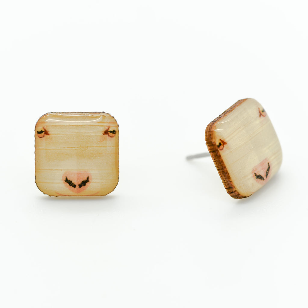 Goat Earrings