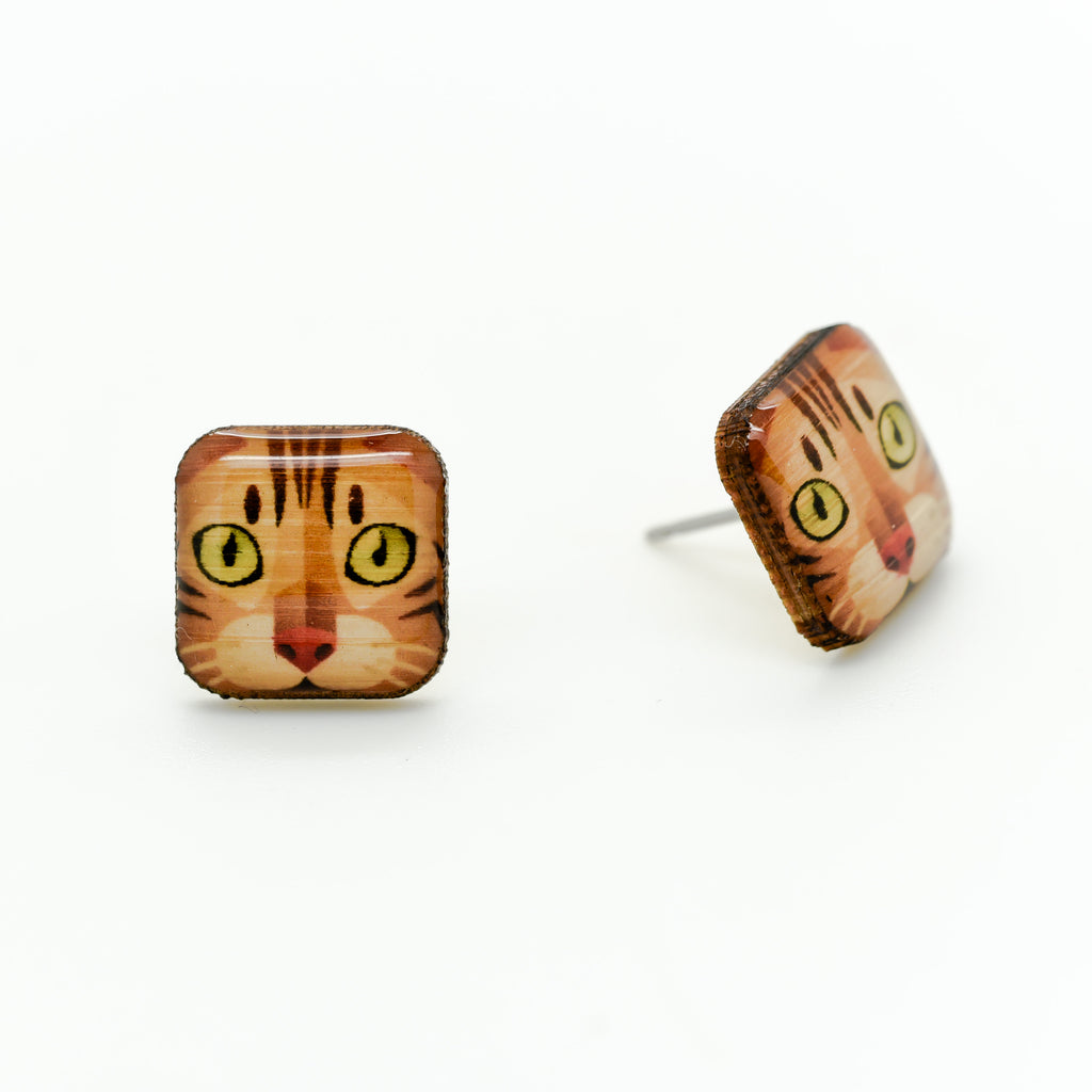 Bengal Cat Earrings