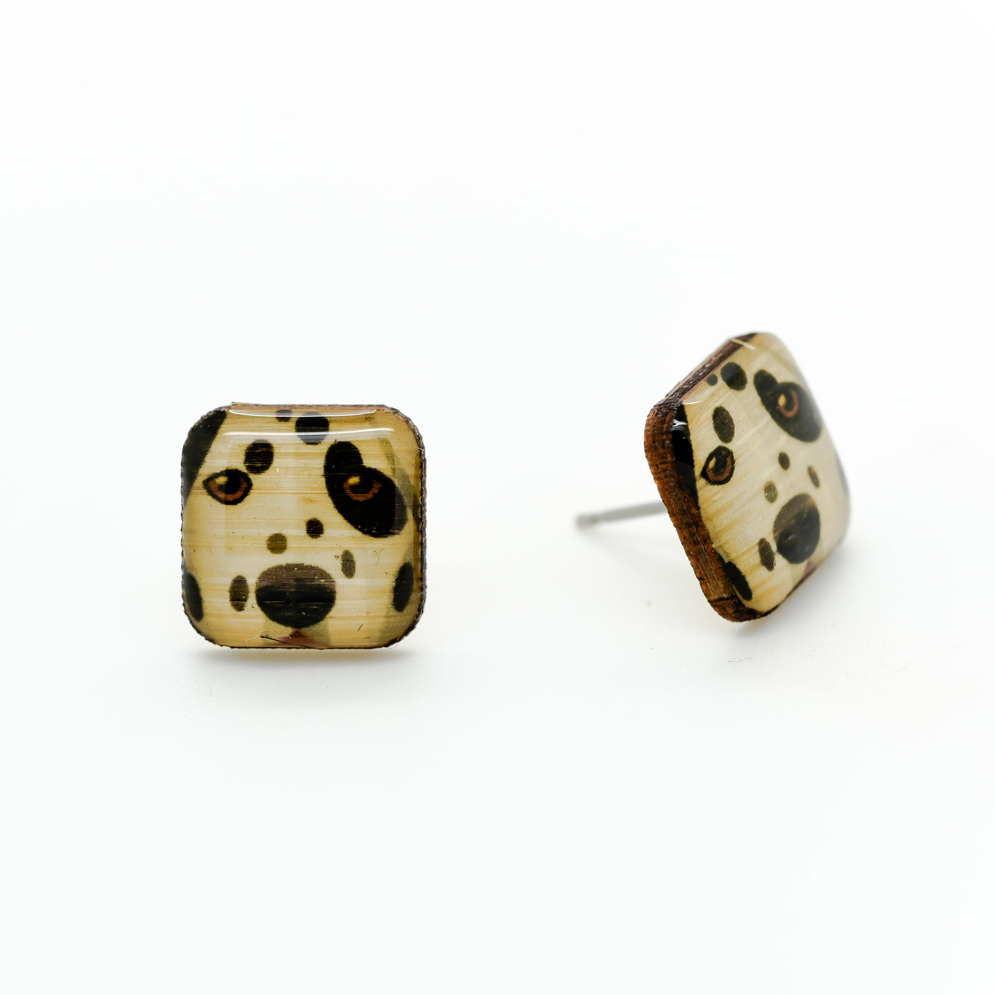 Dalmation Earrings