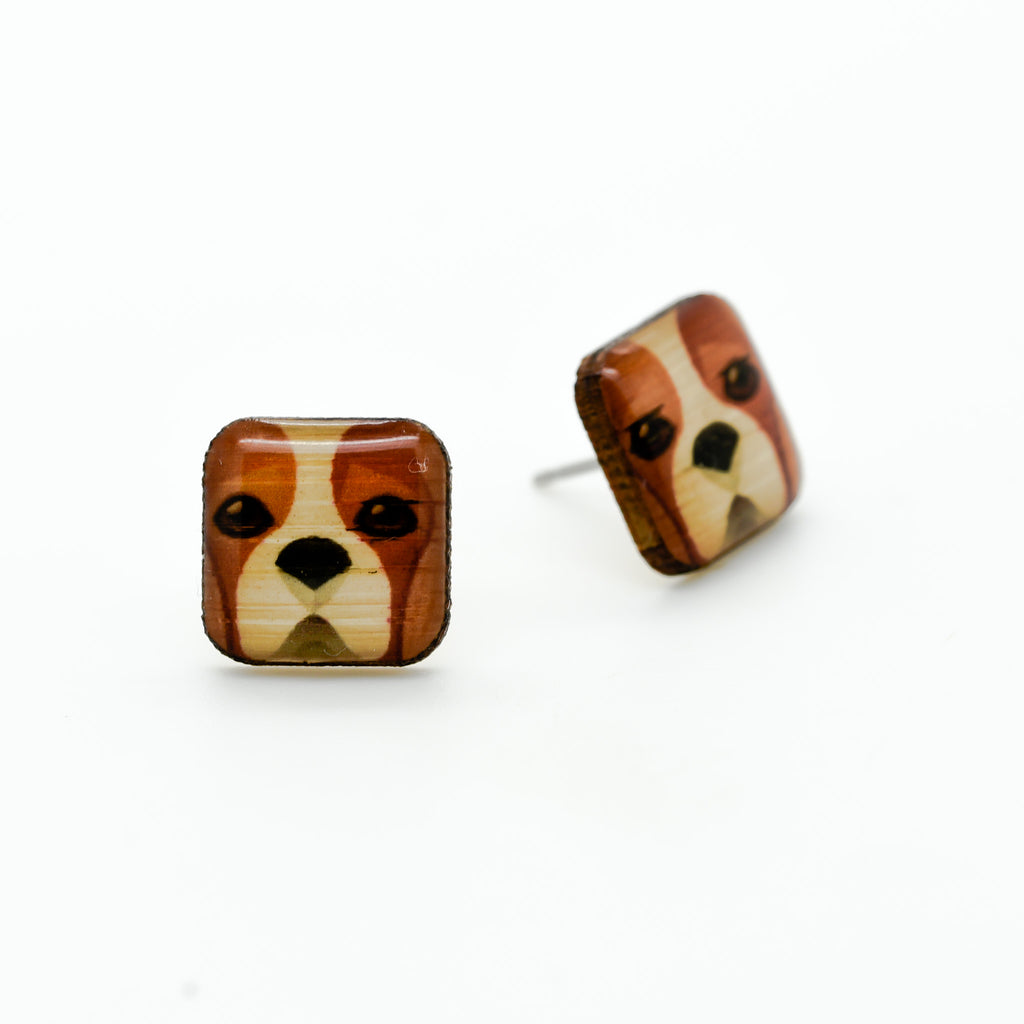 Charles Spaniel Earrings