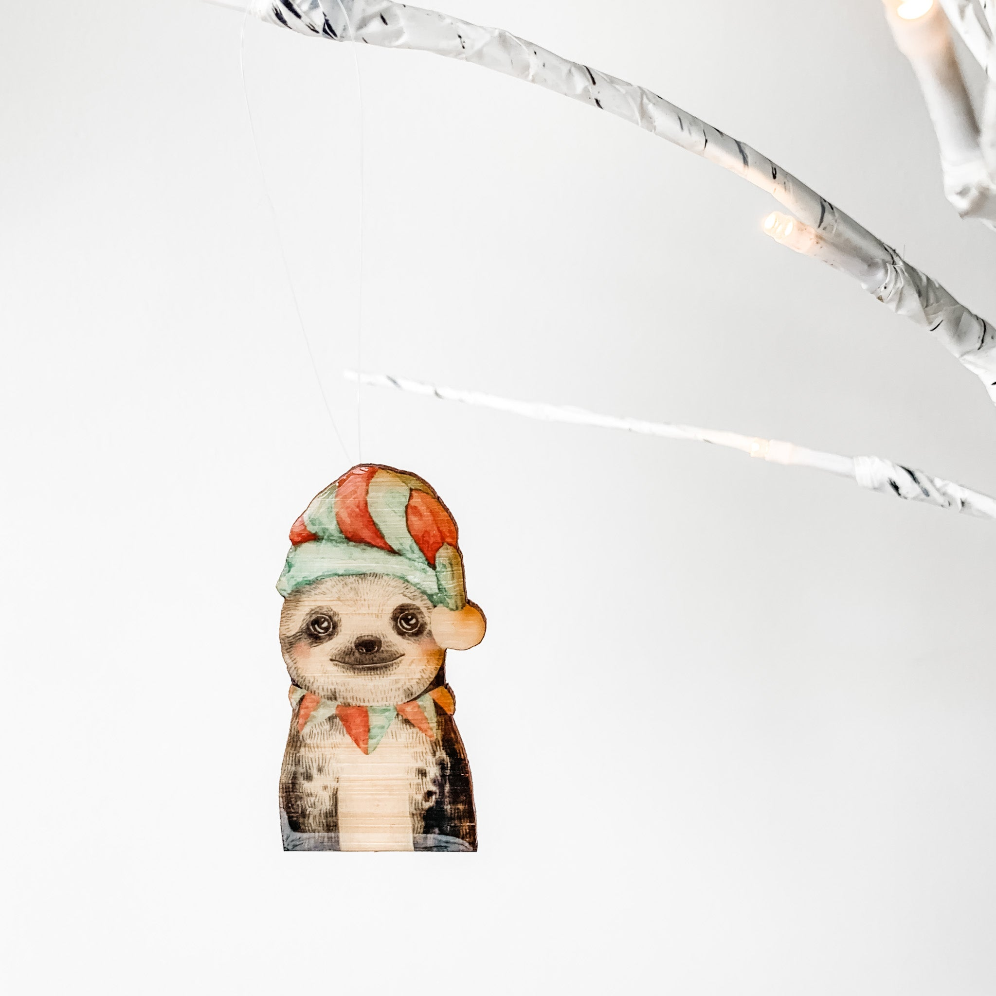 Christmas Decoration - Sloth