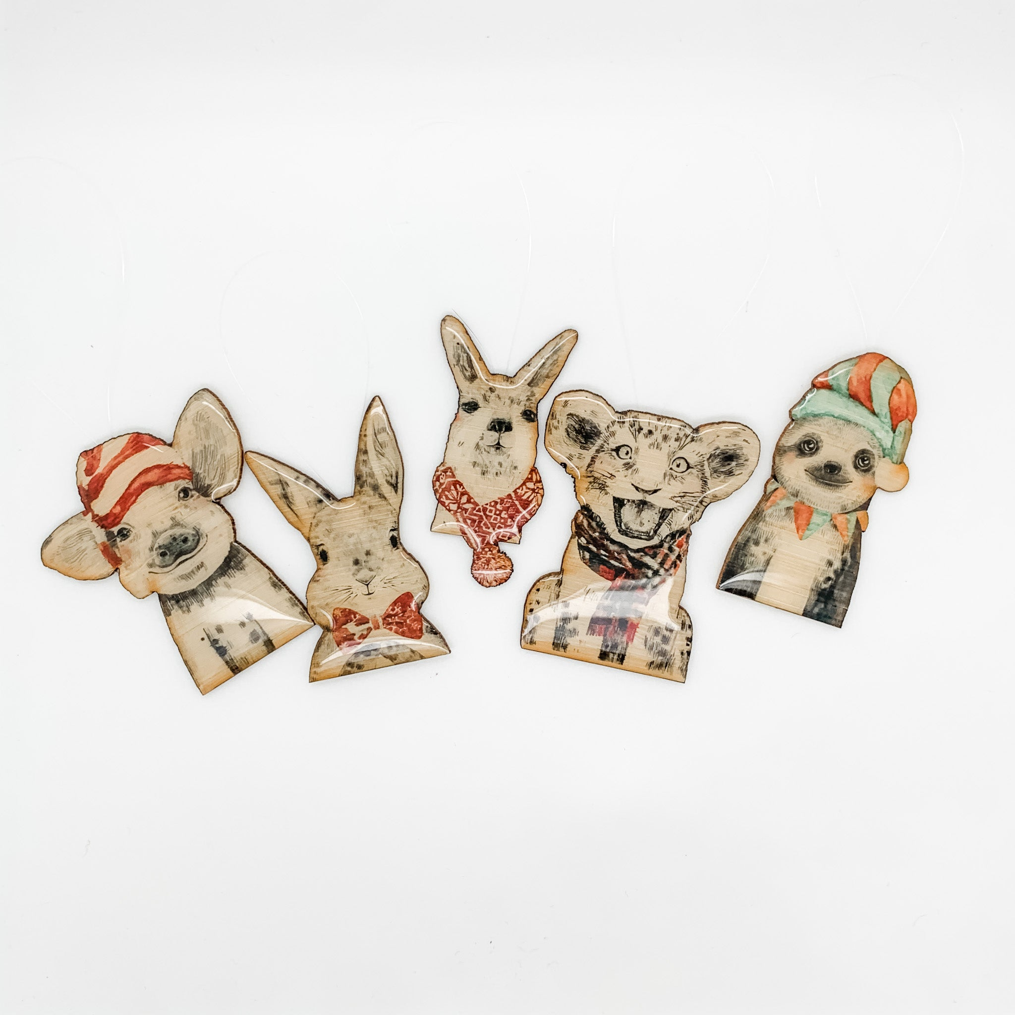 Christmas Decorations - Set of 5