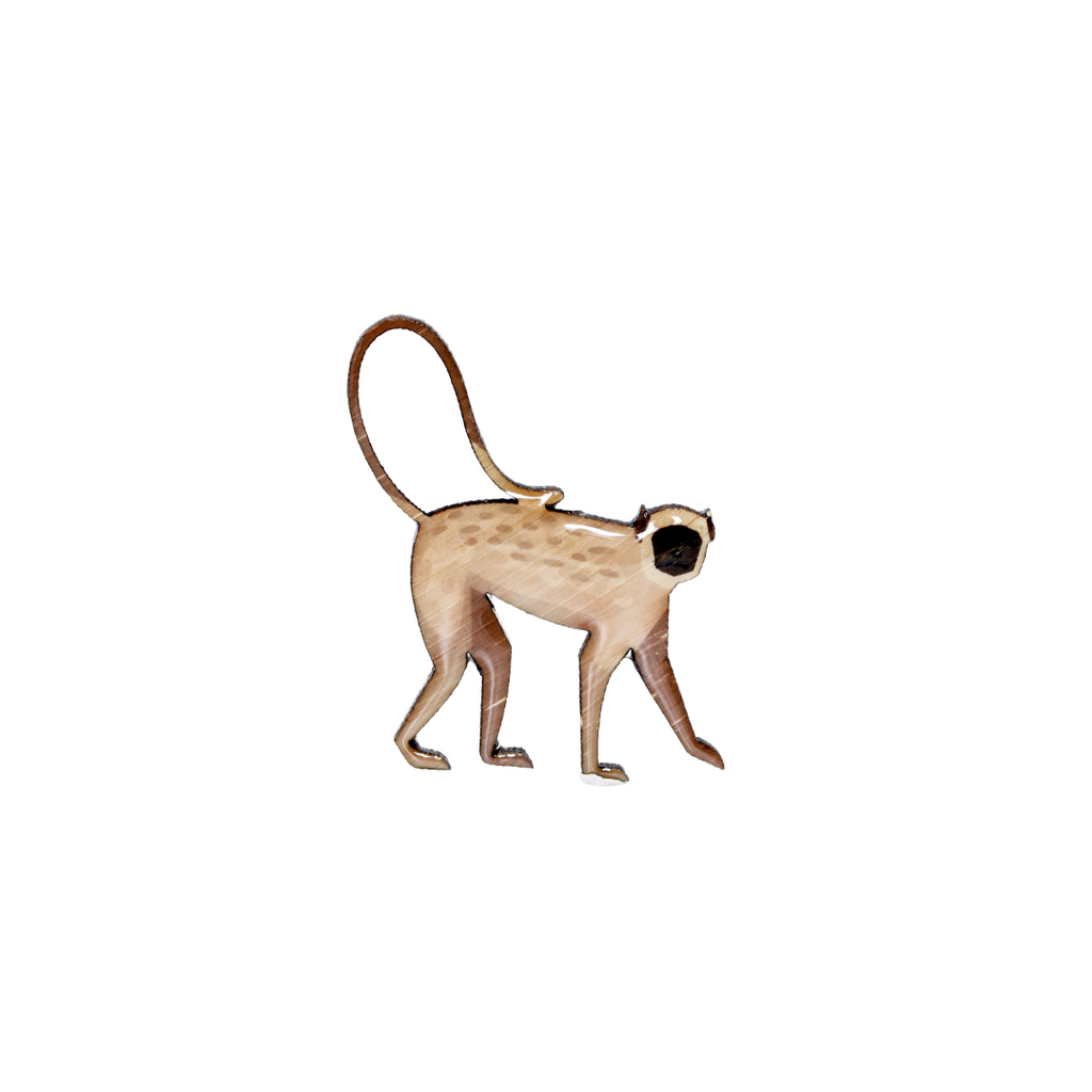 Langur - Indian Brooch