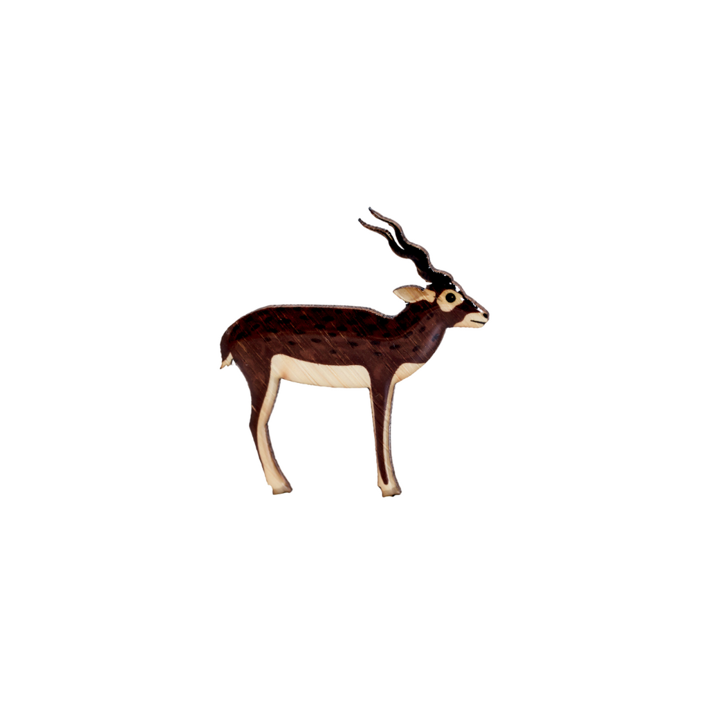 Blackbuck Brooch