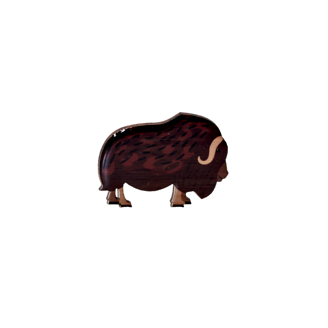Ox - Musk Ox Brooch