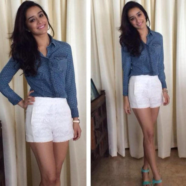 98088a644cd Shraddha Kapoor has the coolest style mantras ever. This cute looking  actress has been making her public appearances in outfits we don't  necessarily like ...