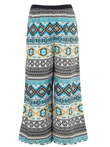 Multicolour Palazzo Pants for Girls