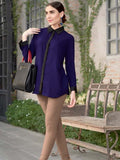 Berry Blue Shirt - PurpleTulsi.com