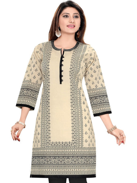 Beautiful Cotton Kurti - PurpleTulsi.com  - 1