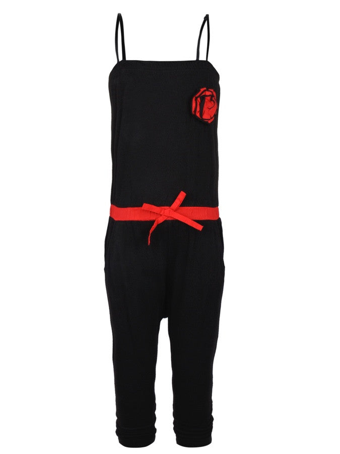 Black Jumpsuit for Girls