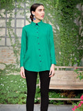 Jade Green Shirt - PurpleTulsi.com