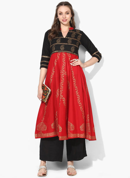 Beautiful and Designer Anarkali Kurti