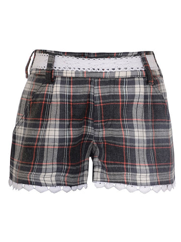 Multicolour Girls Shorts