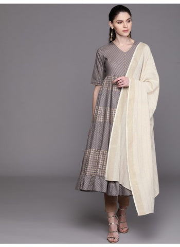 Cream Color Rayon Dupatta