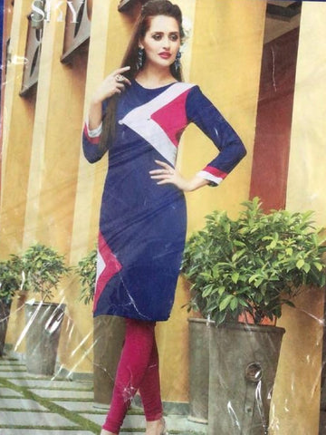 Blue Stylish Kurti