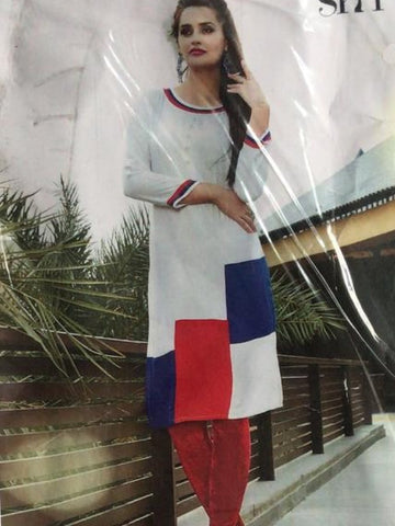 White Stylish Kurti
