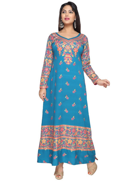 New Look Blue Kaftan Kurti