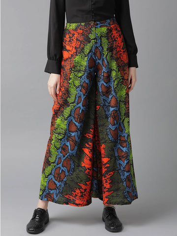 Beautiful Rayon Printed Multicolor Palazzo Pant