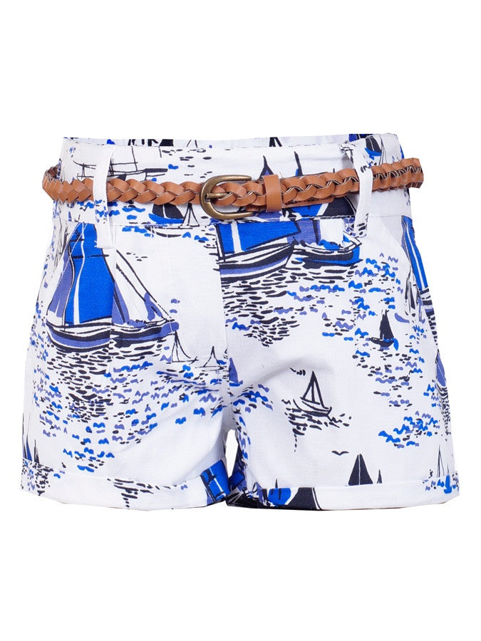 Trendy Multicolour Girls Shorts