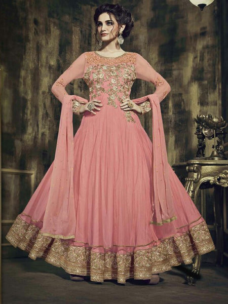 Blush Pink Premium Anarkali Suit